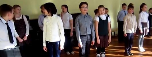 Танец навыпускной в4 классе